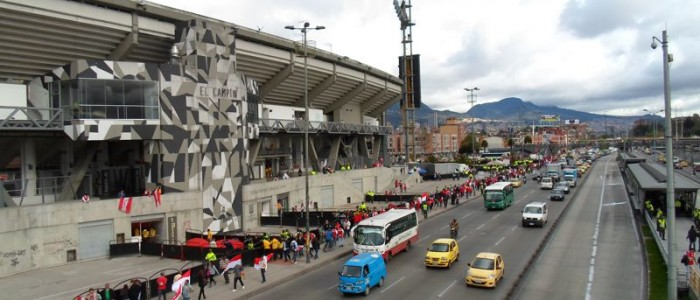 Estadio Nemésio Camacho EL Campín