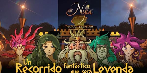 Nyia, una ciudadela de oro